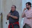 Asinara 18 agosto 2007 - Antonello Grimaldi e Sante Maurizi
