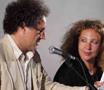 Asinara 19 agosto 2007 - Elia Schilton e Iaia Forte