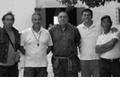 Mario Pinna, Gavino Marcia, Gabriele Mura e Natalino Serra