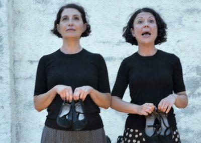 Daniela Cossiga e Antonella Masala