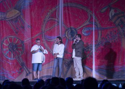 Giampiero Farru, Sean Wheeler, Sante Maurizi