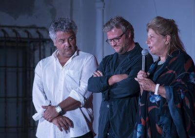 Gianluca Pignataro, Riccardo Baldini, Fiorella Infascelli