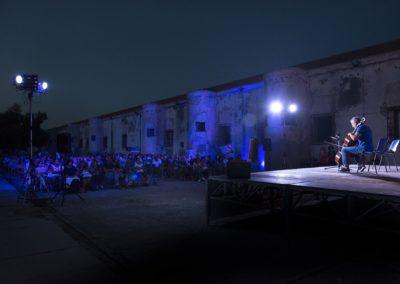 L'esibizione di Roberto Soldatini