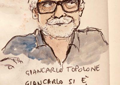 Giancarlo De Cataldo visto da Paolo Virzì