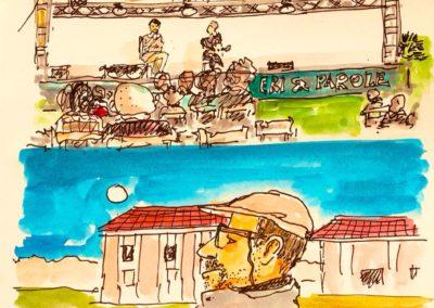 Il festival nei disegni di Paolo Virzì